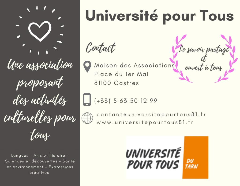 Université pour Tous du Tarn